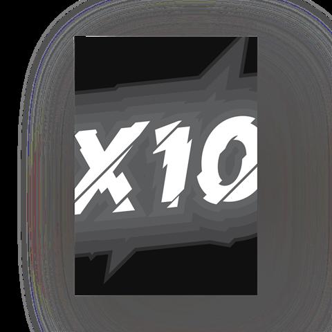 """Постер """"X10"""""""