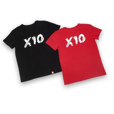"""Набор из двух футболок """"Х10"""""""